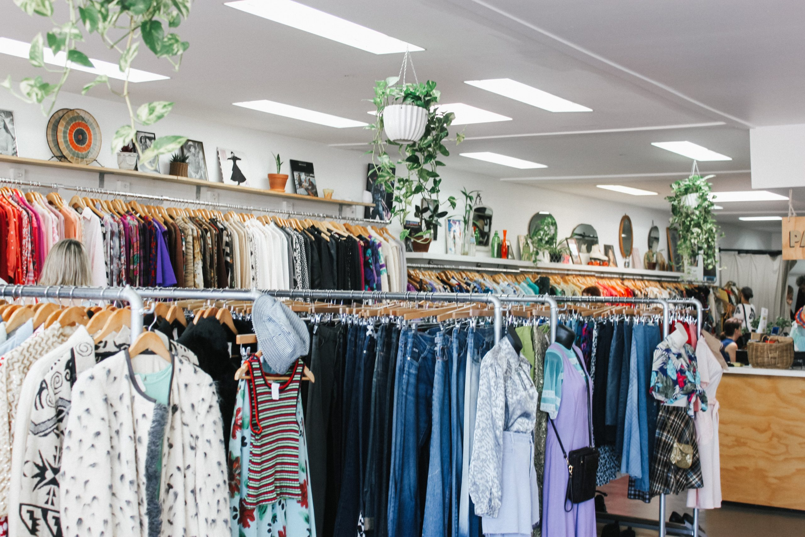 image of thrift store for article 5 Easy Ways You Can Shop Sustainably