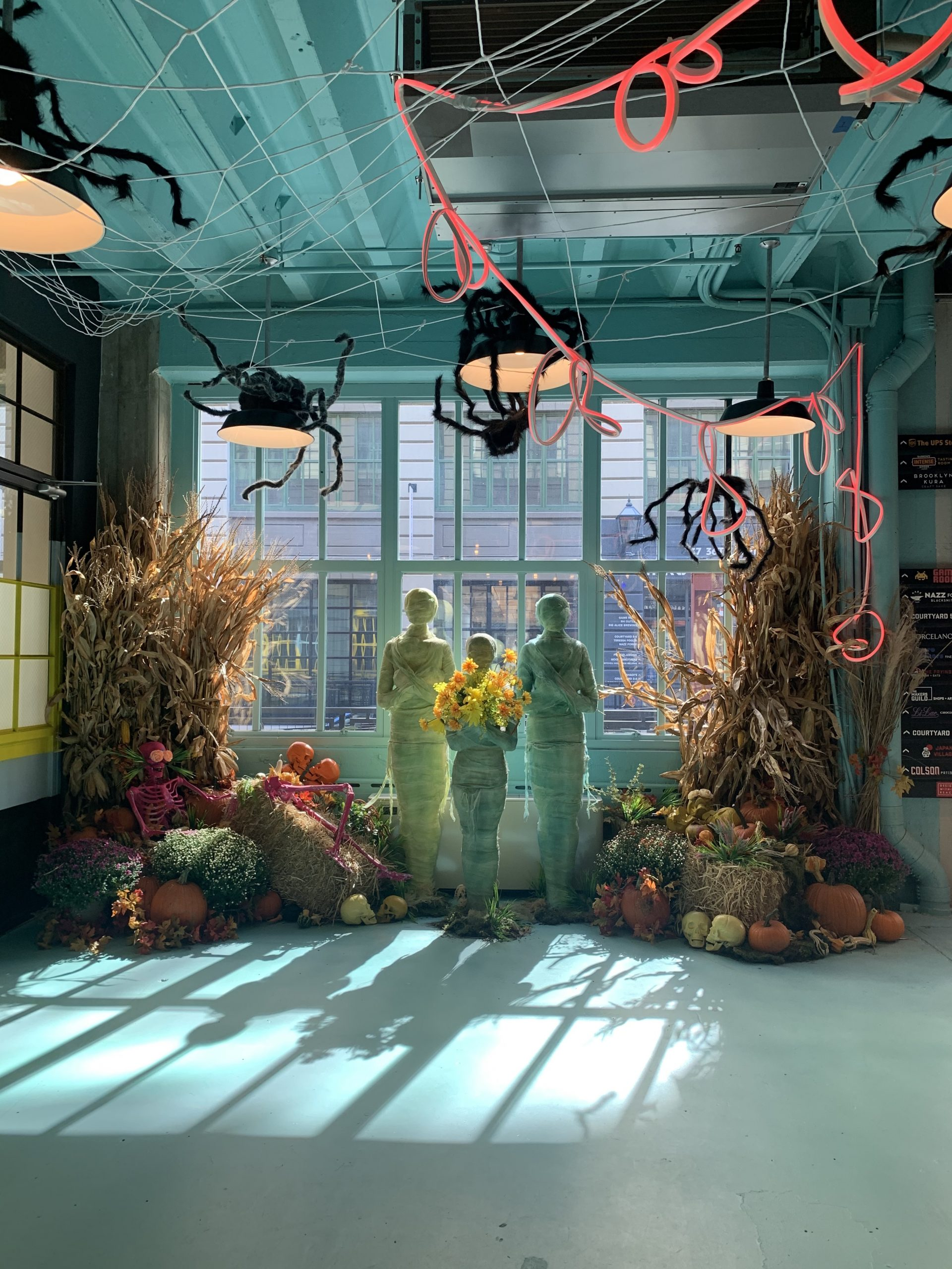 Halloween Decoration Things To Do In NYC: Industry City