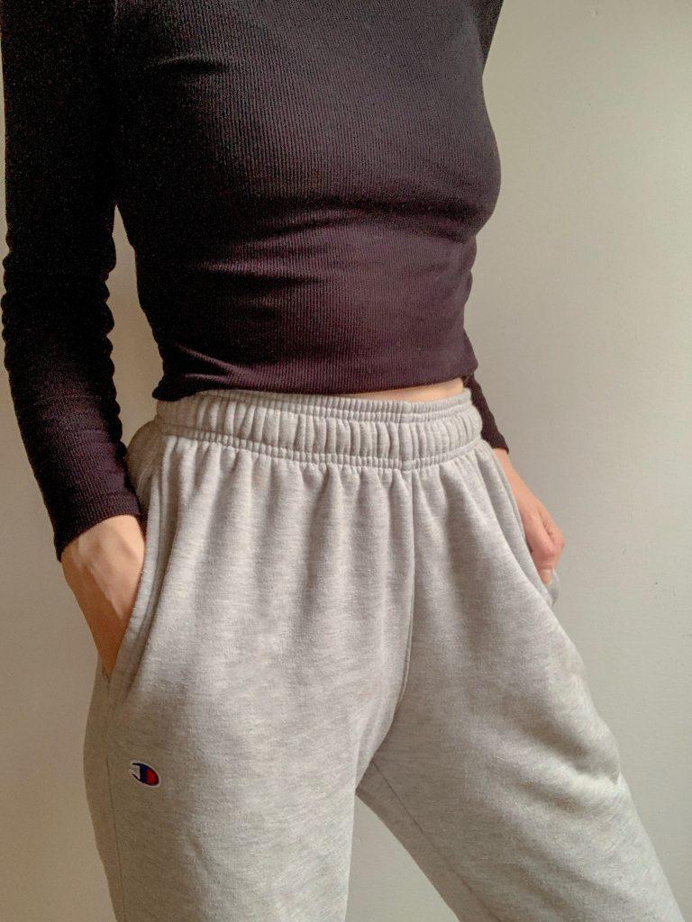 Gray Champion Sweatpants