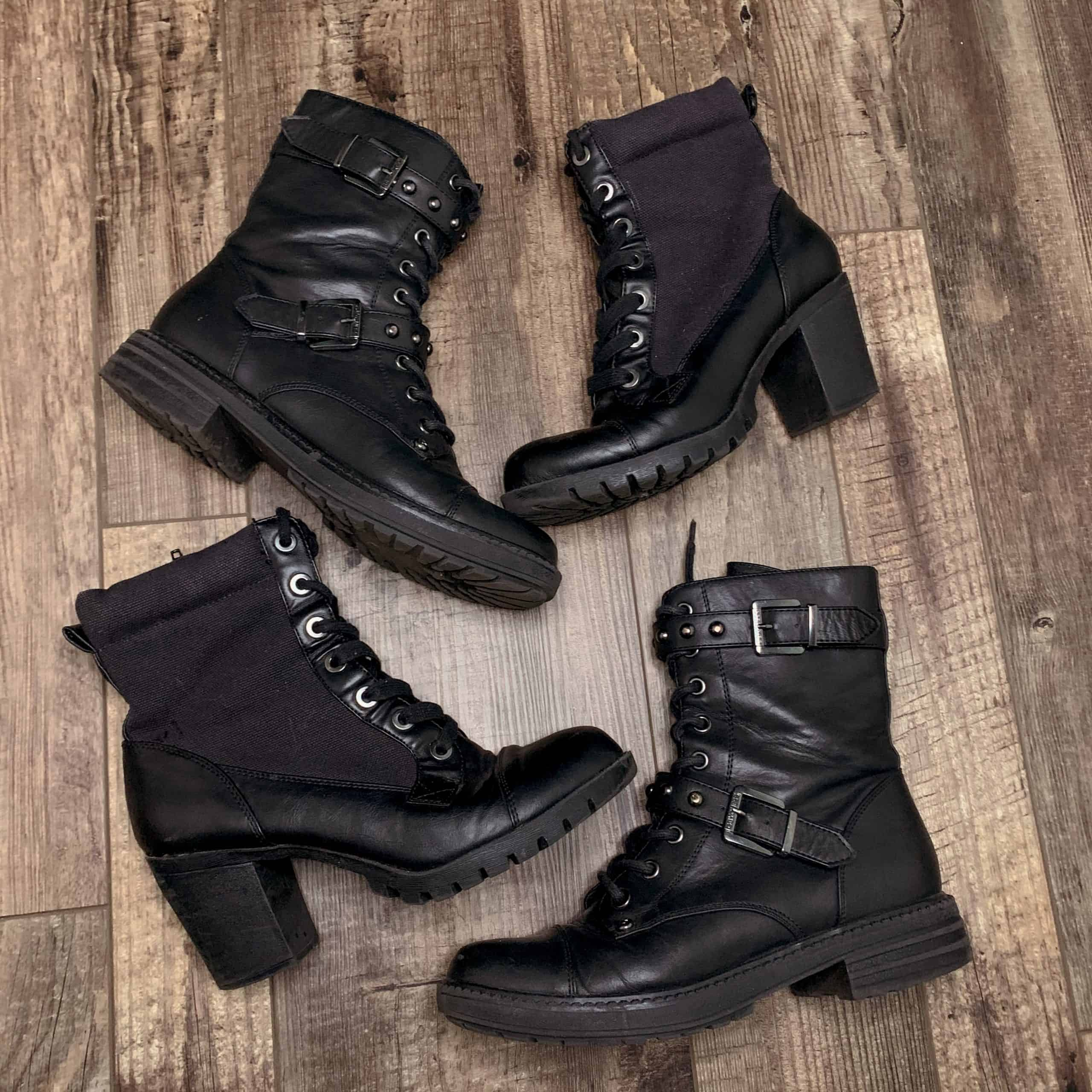 Combat Boots For Cheap And Cute Boots For Women Under $100
