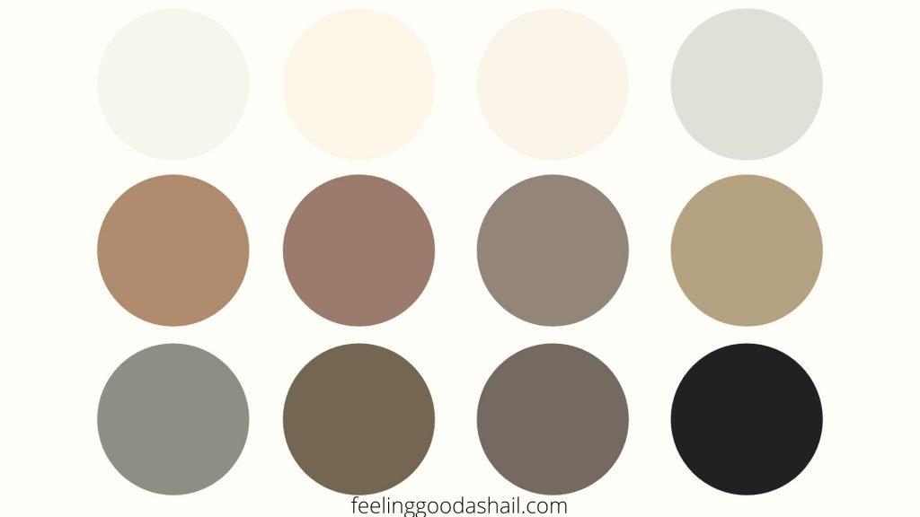 Color Palette For Capsule Wardrobe