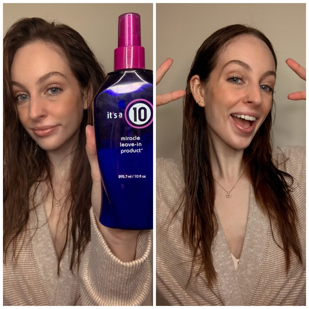 Miracle 10 Product and Straight Hair For Revlon One-Step Hair Dryer Review