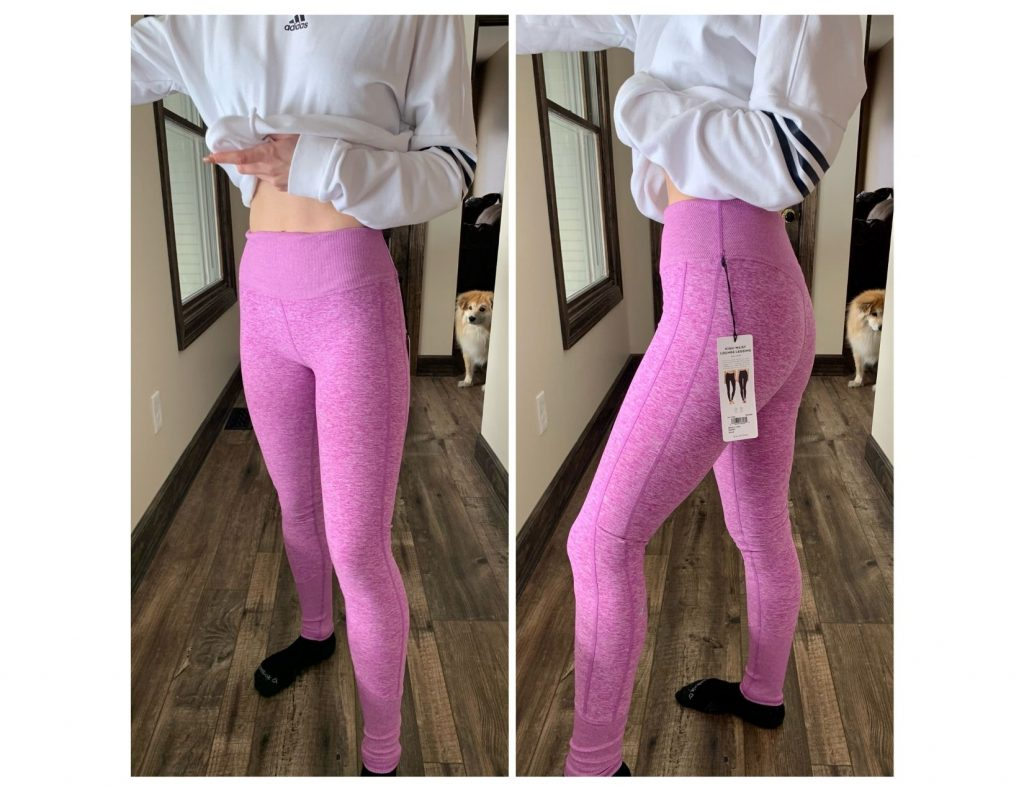 Pink/Purple Alo Leggins - Trunk Club Review