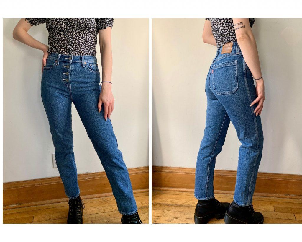 Medium Wash Levis Wedgie Jeans